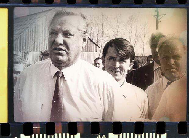 Борис Ельцин, фото из открытых источников