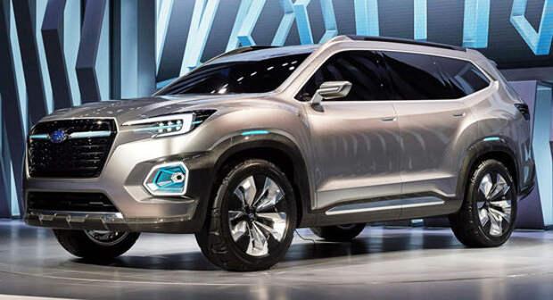 Гигант оппозиции: Subaru Viziv-7 SUV Concept намекнул на большой серийный кроссовер