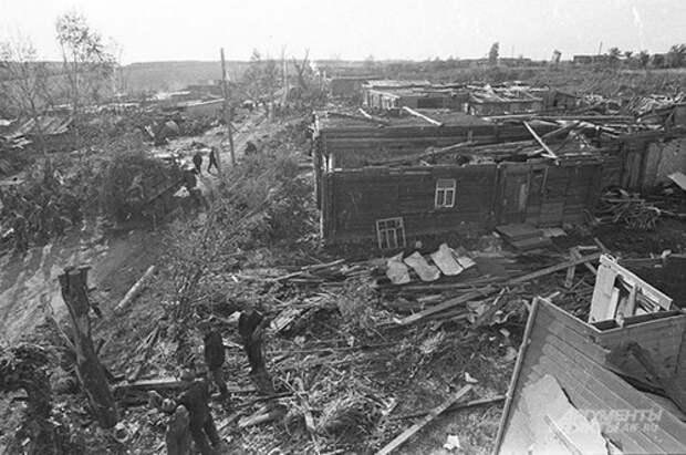 Ивановский смерч: самый разрушительный торнадо в истории СССР