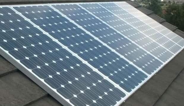 солнечная батарея АЗС