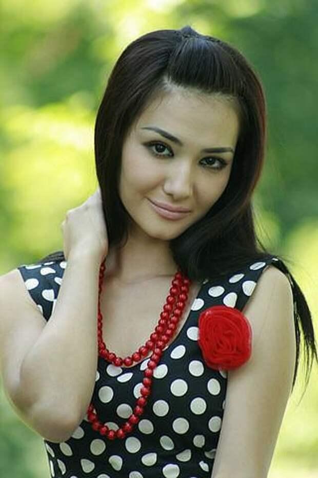 Зарина Низомиддинова, узбекская актриса. Фото