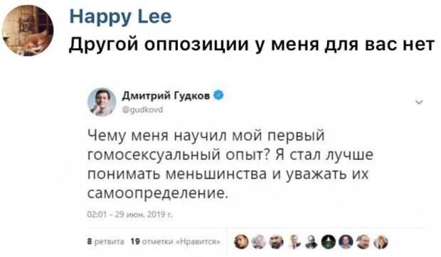 Оппозиция. Дмитрий Гудков