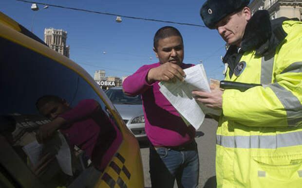 Сколько мигрантов среди таксистов? Да больше половины!