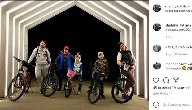 Фотокадр: жители Лианозова открыли велосезон