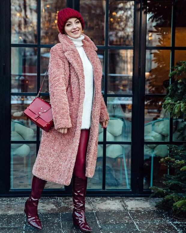 С чем носить длинную шубу? /Фото: modnaya-krasivaya.ru