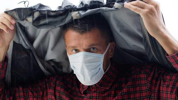 Распространение коронавируса в России связали с дождями