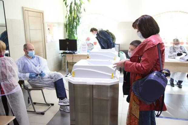Выборы в СВАО. Фото: Ярослав Чингаев