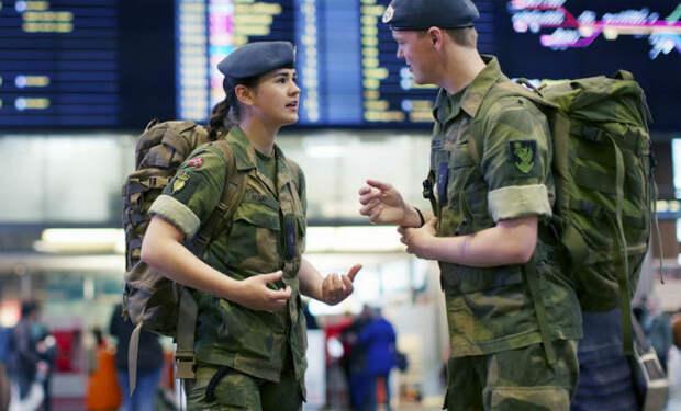 Служба в армии Норвегии