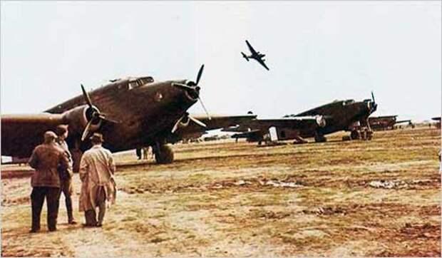Бомбардировщики Второй мировой