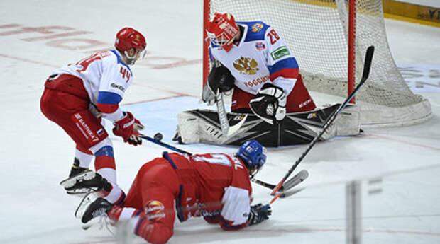 Без обладателя Кубка Гагарина и с семью легионерами НХЛ: обнародован состав сборной России по хоккею на ЧМ в Латвии