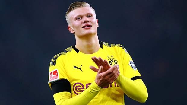 Холанд официально признан лучшим молодым футболистом в Европе в 2020 году