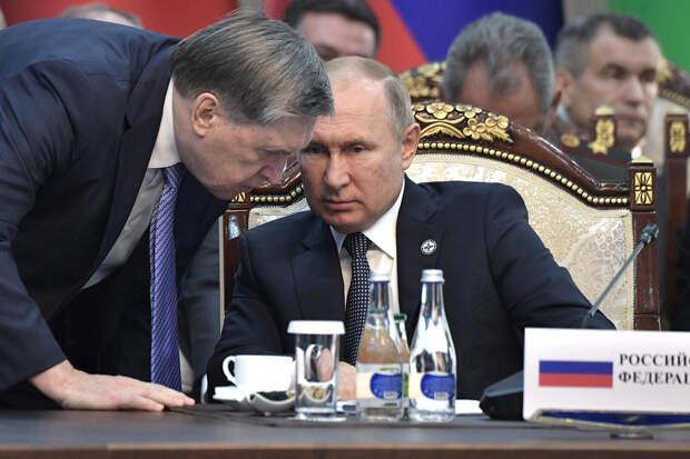 Названы темы переговоров Путина и Байдена