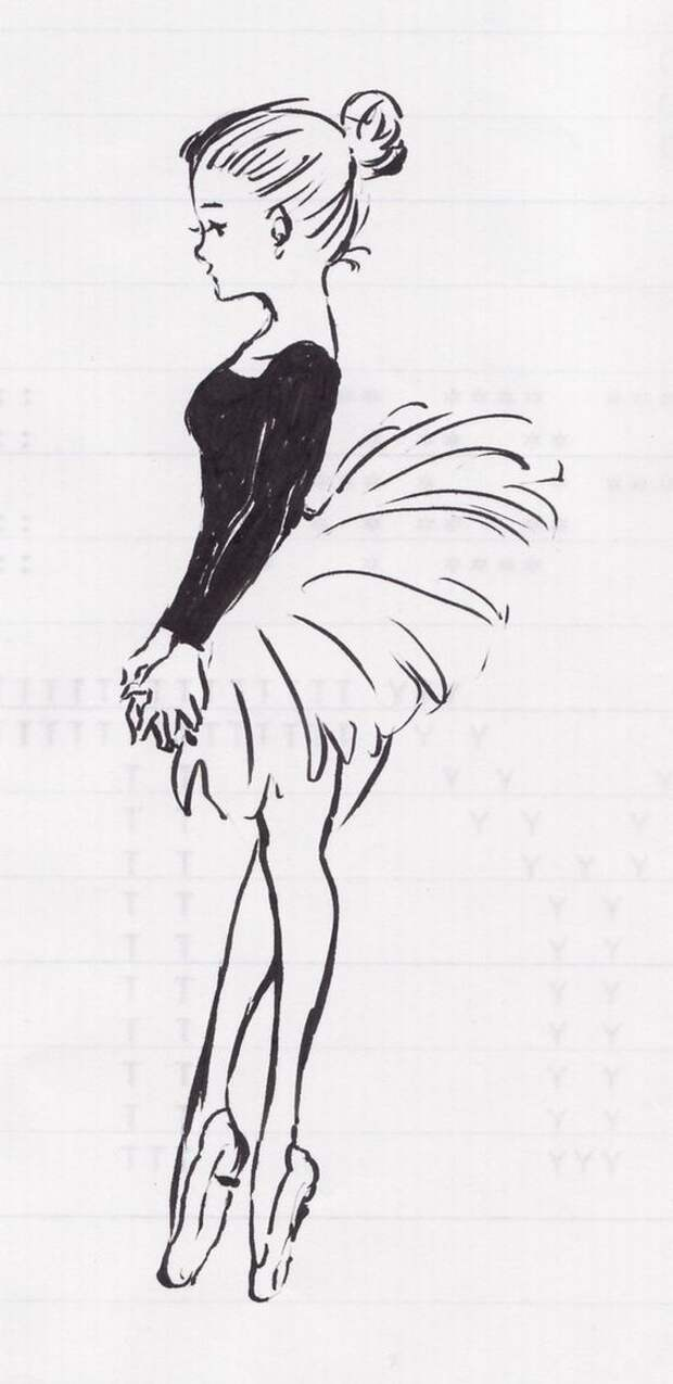 Танцующие балерины (трафик)