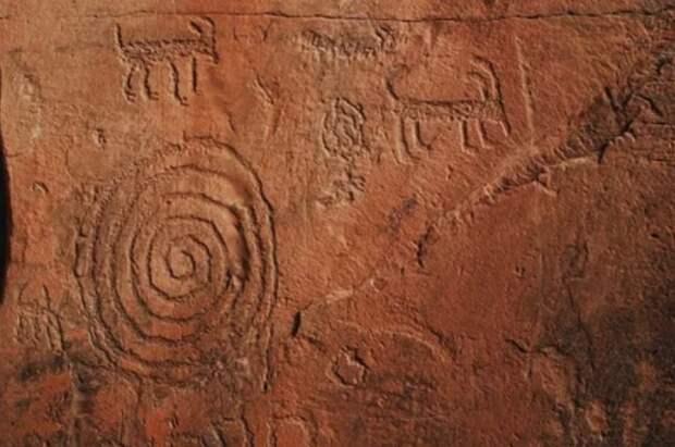В Индии обнаружены наскальные рисунки возрастом 30 тысяч лет
