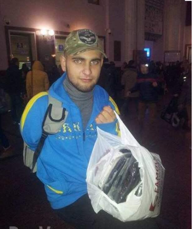 «Айдаровец», которого вылечили в Луганске, облил грязью своих спасителей.