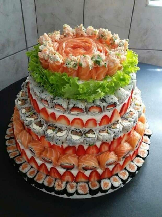 Суши... Торт!