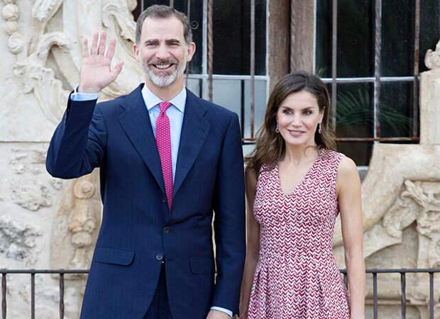 Сын бывшего короля Испании