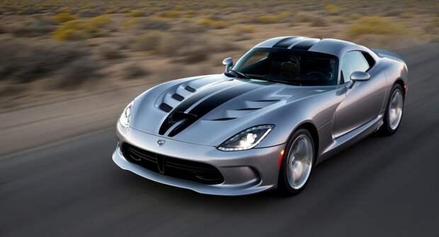 В сети показали, как Dodge Viper проходил тест на скорость