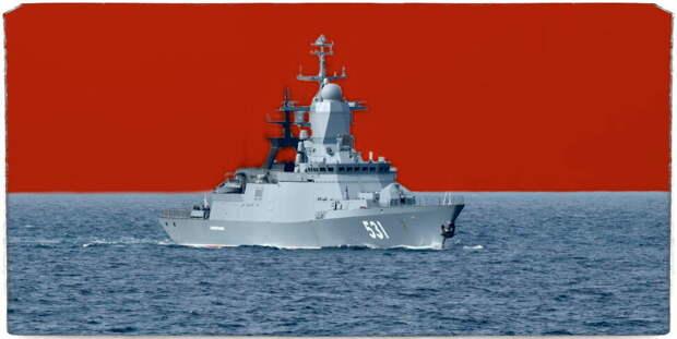 Правда ли, что на самый продвинутый корабль для ВМФ ставят крест?