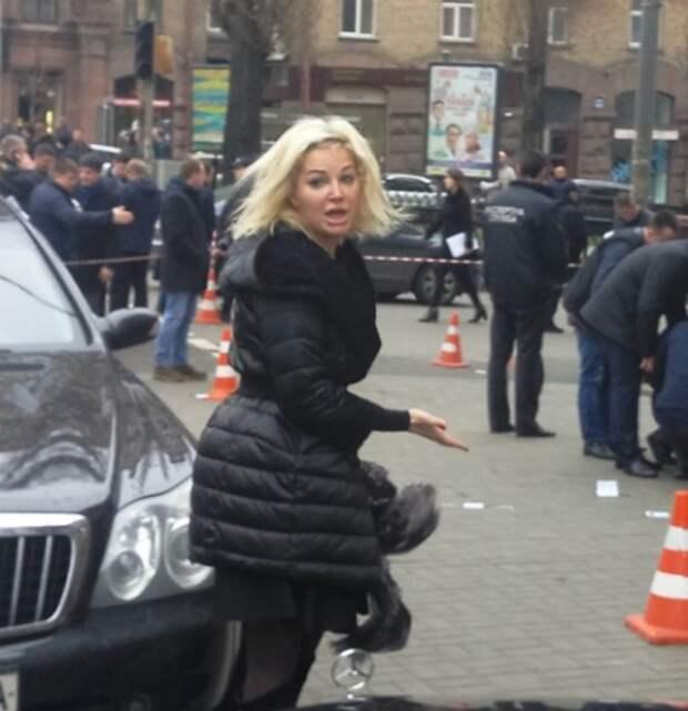 Мария Максакова призналась, что после убийства супруга Д. Вороненкова находится «на грани»