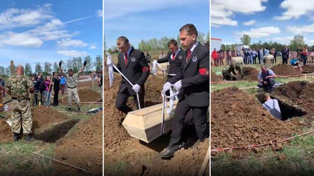 В Новосибирске провели первый Всероссийский чемпионат по скоростному копанию могил