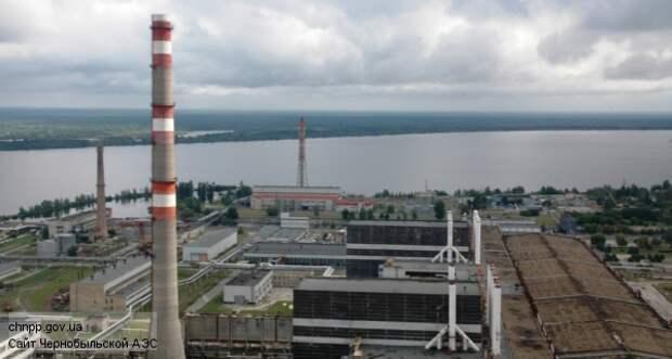 Промплощадка Чернобыльской АЭС