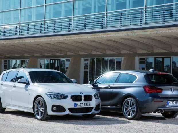 Обновленный BMW 1-й серии получил 3-цилиндровые моторы