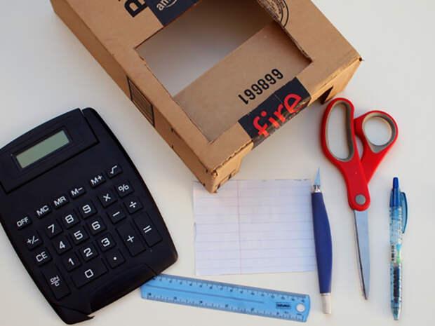 Как сделать кассу из бумаги в домашних условиях