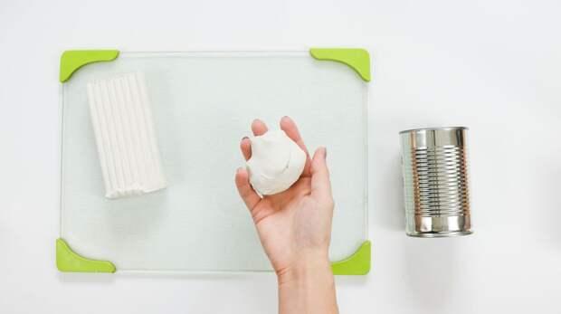 Косички из полимерной глины: декор горшка или подсвечника