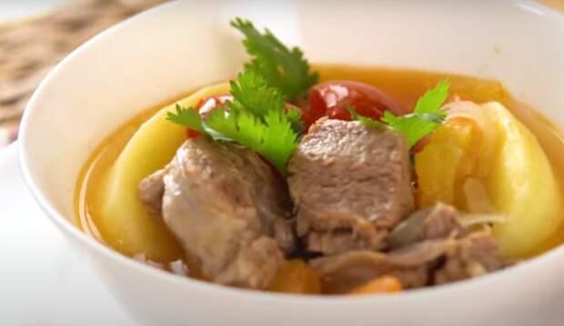 «Хашлама» по ресторанному рецепту