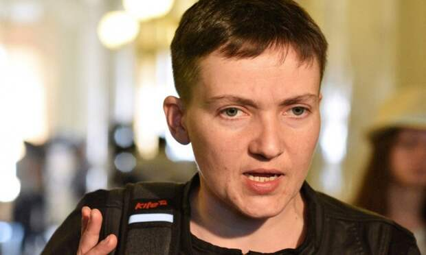 Савченко высказалась по поводу враждебной украинской власти