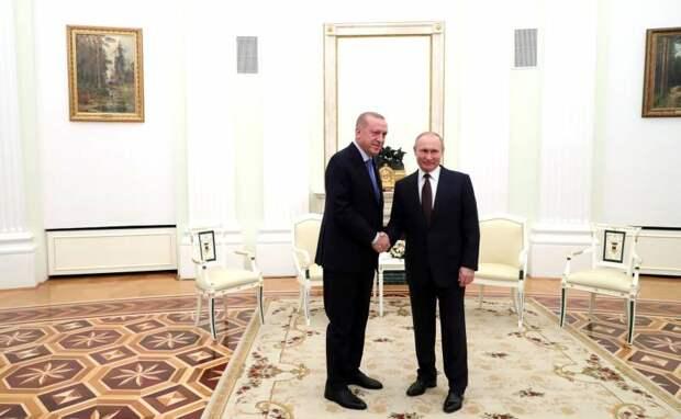 Турция переоценила свои возможности. Итоги встречи Эрдогана и Путина