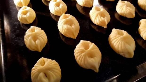 Обалденное творожное печенье к чаю  Просто, быстро и вкусно
