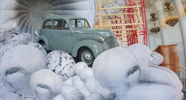 В Москве проходит посвященная легендарному «Москвичу» выставка