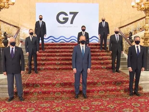 Страны G7 призвали Россию принять меры по деэскалации ситуации на границе с Украиной и в Крыму