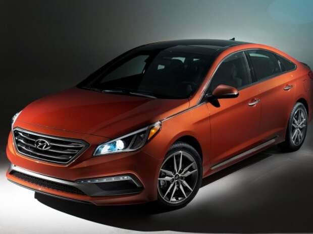 Обновленный Hyundai Sonata получит более яркий дизайн