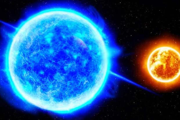 Самая огромная звезда известная науке