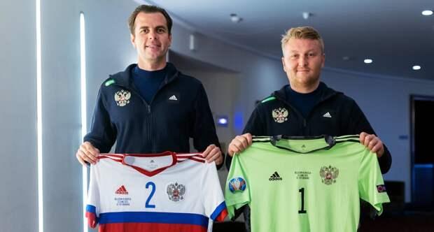 Сборная России сыграет с Бельгией в белой форме
