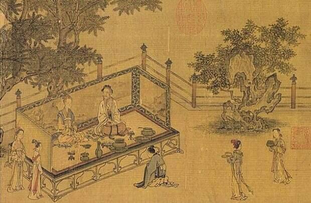 Изображение жителей Древнего Китая