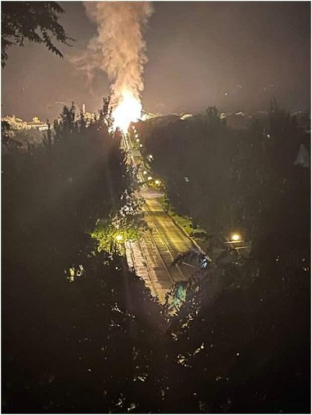 В Луганске на газопроводе произошел взрыв