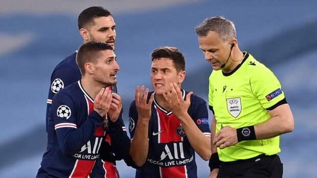 Эррера обвинил арбитра матча с «Манчестер Сити» в оскорблении Паредеса