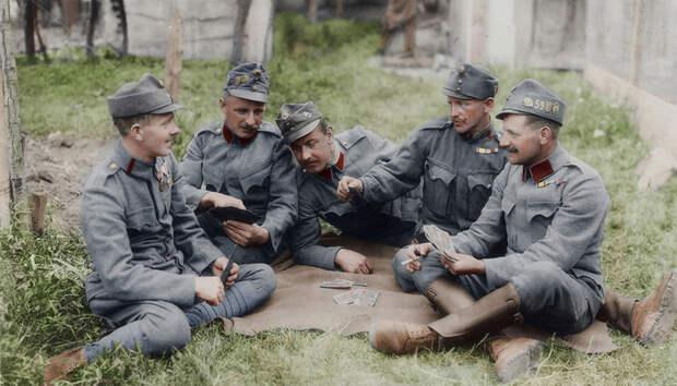 Цветные снимки Первой мировой войны, которые сделаны как будтовчера