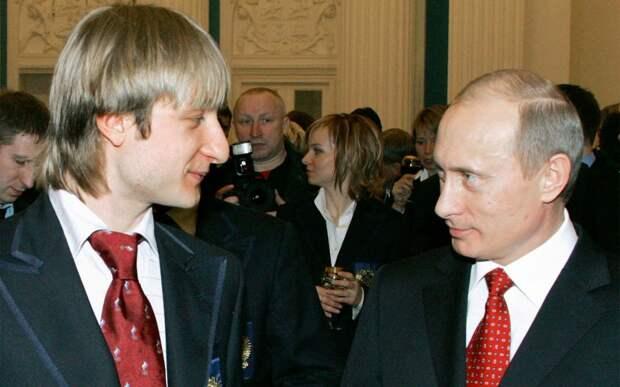 Плющенко: «Я всегда топил и буду топить за Путина. Он лучший лидер за все годы»