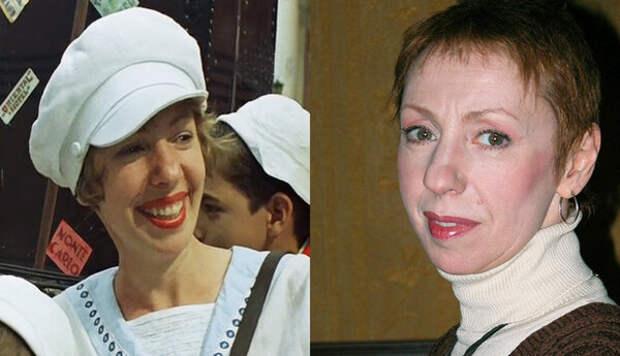 Галина Петрова, слева в образе Клары Глушко