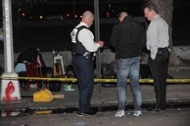 Во время очередной стрельбы в Нью-Йорке пострадало 5 человек