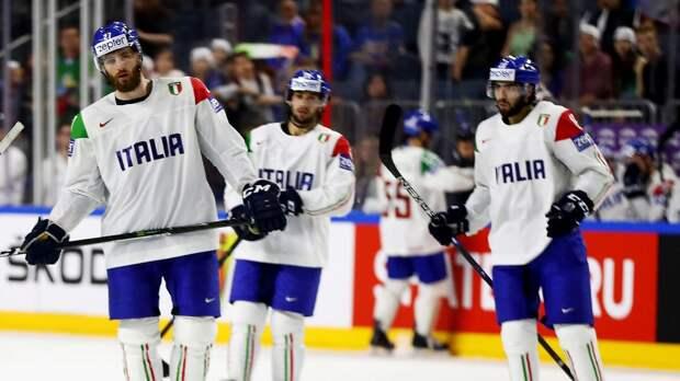 В сборной Италии по хоккею 15 игроков заболели коронавирусом, но команда не планирует сниматься с ЧМ