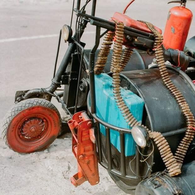 Безумные кастомные мотоциклы (подборка)