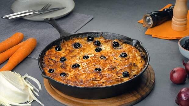 Овощной омлет из капусты с сыром: вкусный завтрак по итальянским мотивам