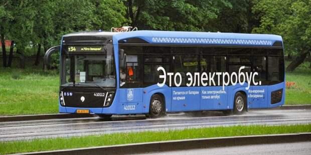 Собянин: До конца года в Москве будет около 600 электробусов / Фото: mos.ru