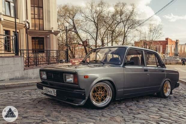 Крутая «пятёрочка» автомобили, машины, советские авто, тюнинг